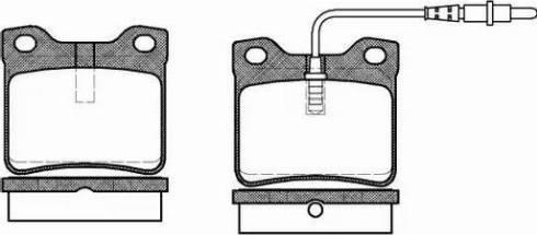 Roadhouse 2321.02 - Комплект тормозных колодок, дисковый тормоз autodnr.net