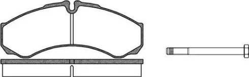 Roadhouse 2651.00 - Комплект тормозных колодок, дисковый тормоз autodnr.net