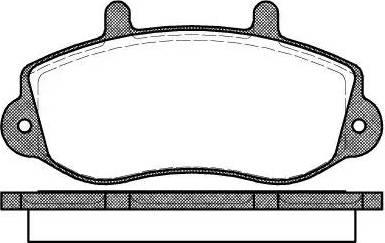 Roadhouse 2677.00 - Комплект тормозных колодок, дисковый тормоз autodnr.net