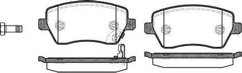Roadhouse 2987.11 - Комплект тормозных колодок, дисковый тормоз autodnr.net