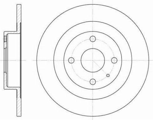 A.B.S. 17092 - Тормозной диск autodnr.net