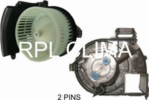 RPLQuality APVTRE0008 - Вентилятор салона car-mod.com