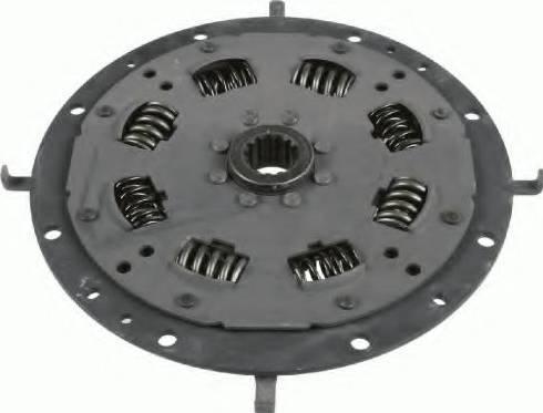 SACHS 1866600022 - Торсионный демпфер, сцепление car-mod.com