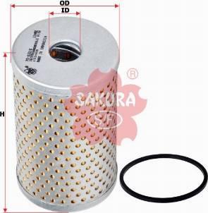 SAKURA PO83010 - Гидрофильтр, рулевое управление car-mod.com