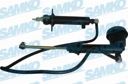 Samko M30137K - Главный / рабочий цилиндр, система сцепления avtokuzovplus.com.ua