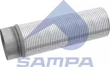 Sampa 020394 - Гофрированная труба, выхлопная система car-mod.com