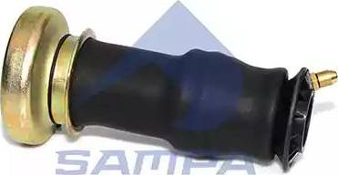 Sampa 040153 - Баллон пневматической рессоры, крепление кабины car-mod.com