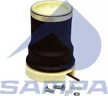 Sampa 050218 - Баллон пневматической рессоры, крепление кабины car-mod.com