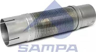 Sampa 100051 - Гофрированная труба, выхлопная система car-mod.com