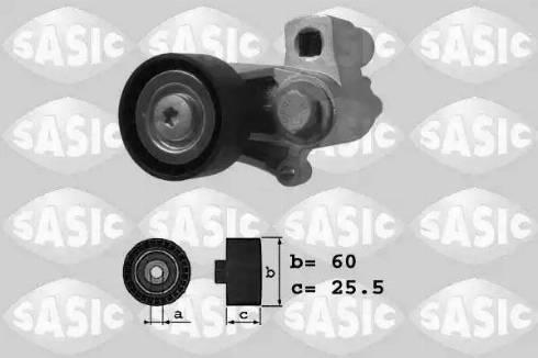 Sasic 1620021 - Натягувач ременя, клинові зуб. autocars.com.ua