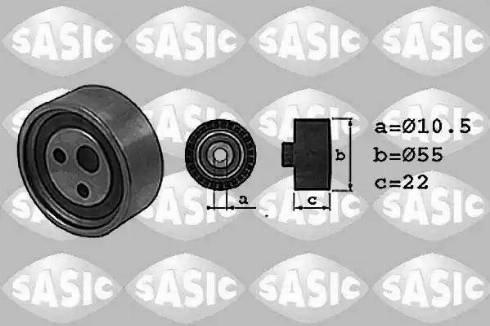 Sasic 1704001 - Натяжна ролик, ремінь ГРМ autocars.com.ua
