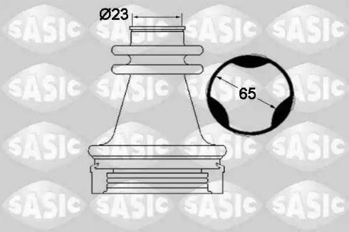 Sasic 1904035 - Комплект пылника, приводной вал autodnr.net