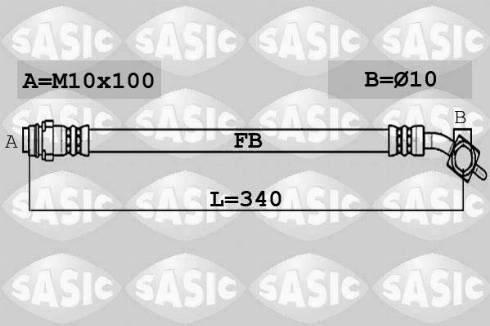 Sasic SCL0224 - Комплект зчеплення autocars.com.ua