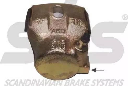 SBS 1301214527 - Тормозной суппорт avtokuzovplus.com.ua