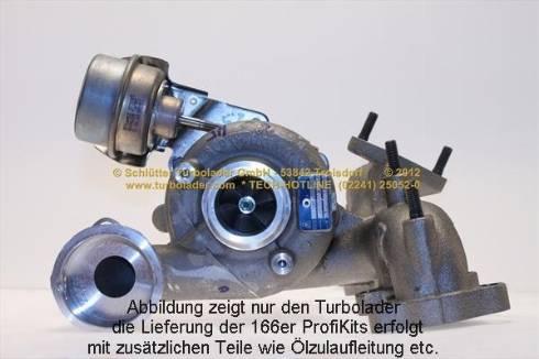Schlütter Turbolader 166-00230EOL - Компрессор, наддув avtokuzovplus.com.ua