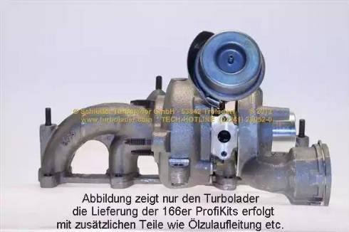 Schlütter Turbolader 166-00230 - Компрессор, наддув avtokuzovplus.com.ua