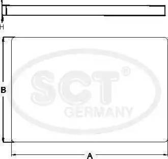 SCT Germany SA 1127 - Фильтр салонный autodnr.net