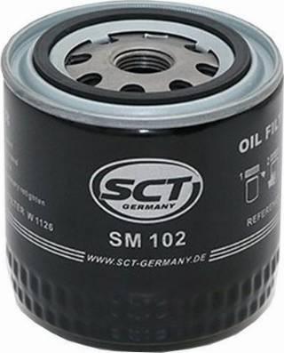 SCT Germany SM 102 - Масляный фильтр autodnr.net