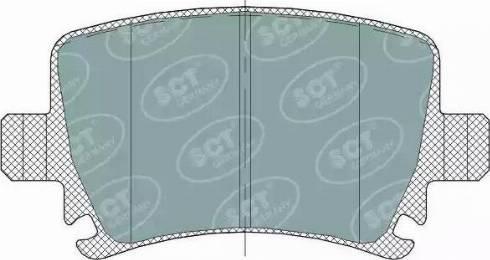 SCT Germany SP 321 PR - Тормозные колодки, дисковые car-mod.com
