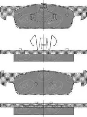 SCT Germany SP 663 PR - Тормозные колодки, дисковые car-mod.com
