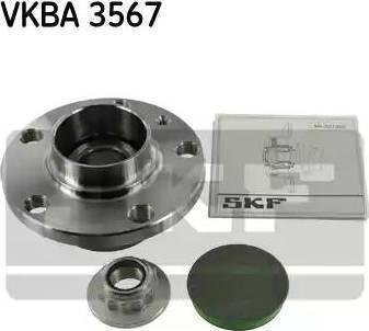 SKF VKBA 3567 - Комплект подшипника ступицы колеса autodnr.net