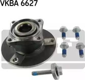 SKF VKBA 6627 - Комплект подшипника ступицы колеса autodnr.net