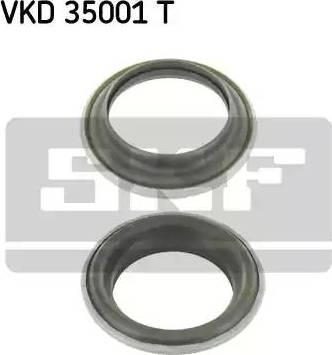 SKF VKD 35001 T - Подшипник качения, опора стойки амортизатора autodnr.net