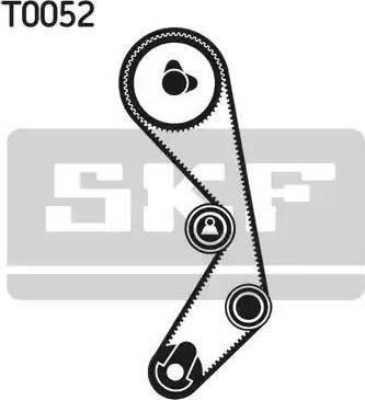 SKF vkma02410 - Комплект ремня ГРМ autodnr.net