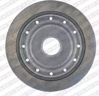 SNR DPF355.04 - Ременный шкив, коленчатый вал car-mod.com