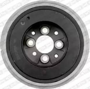 SNR DPF357.00 - Ремінний шків, колінчастий вал autocars.com.ua