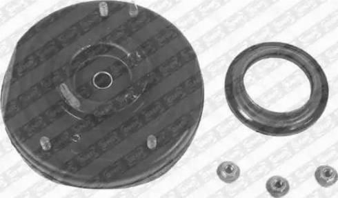 SNR KB655.25 - Ремкомплект, опора стойки амортизатора autodnr.net