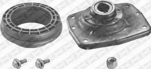 SNR KB659.17 - Ремкомплект, опора стійки амортизатора autocars.com.ua