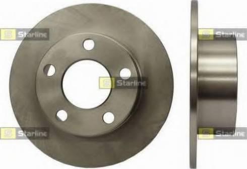 Starline PB 1067 - Тормозной диск autodnr.net
