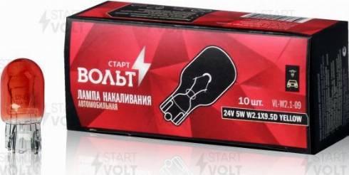 StartVOLT vl-w2.1-09 - Лампа накаливания, стояночные огни / габаритные фонари autodnr.net