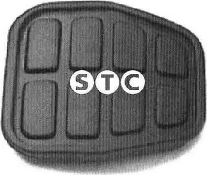 STC T400864 - Педальные накладка, педаль тормоз car-mod.com