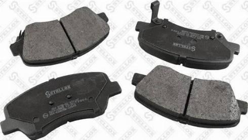 Stellox 000 015B-SX - Тормозные колодки, дисковые car-mod.com