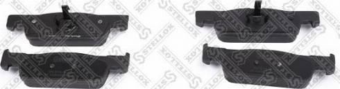 Stellox 000 572B-SX - Тормозные колодки, дисковые car-mod.com