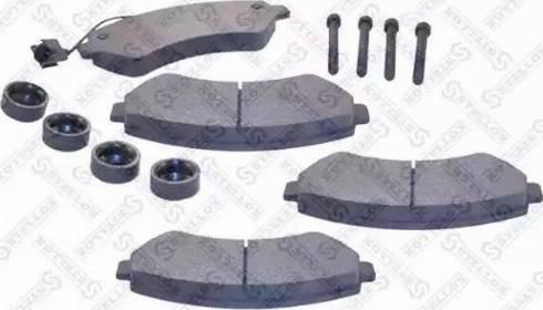 Stellox 1286 001-SX - Тормозные колодки, дисковые car-mod.com