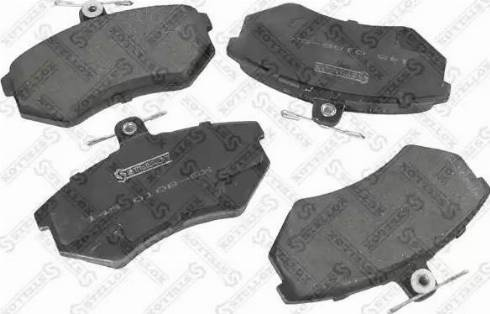 Stellox 145 010B-SX - Комплект тормозных колодок, дисковый тормоз autodnr.net