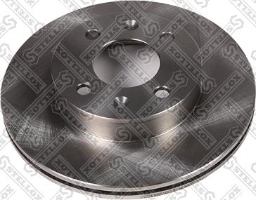 Stellox 6020 1424-SX - Тормозной диск autodnr.net