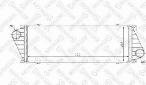 Stellox 81-10855-SX - Интеркулер autodnr.net