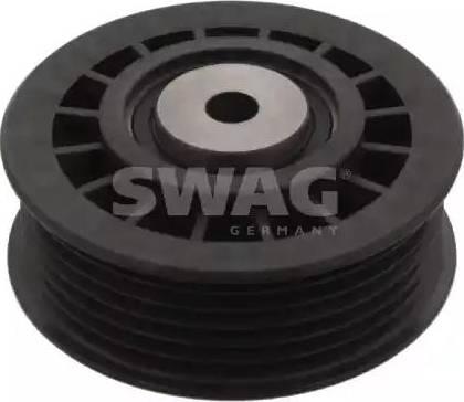 Swag 10 03 0001 - Паразитний / провідний ролик, поліклиновий ремінь autocars.com.ua