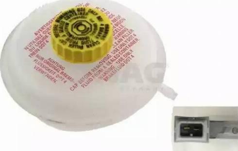 Swag 30926658 - Компенсационный бак, тормозная жидкость car-mod.com