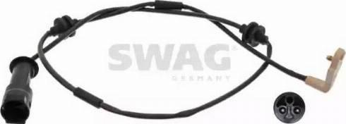 Swag 40 91 7204 - Сигнализатор, износ тормозных колодок autodnr.net