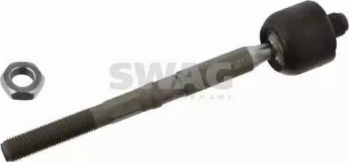 Swag 60 93 7281 - Осевой шарнир, рулевая тяга car-mod.com
