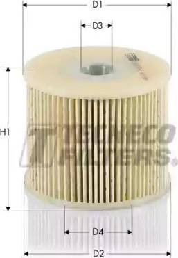 Tecneco Filters GS0479-E - Паливний фільтр autocars.com.ua
