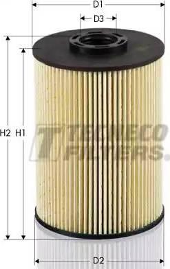 Tecneco Filters GS0927-E - Паливний фільтр autocars.com.ua