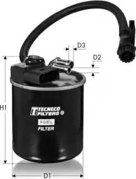 Tecneco Filters GS820/18 - Паливний фільтр autocars.com.ua