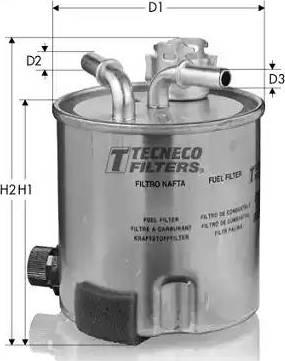 Tecneco Filters GS920/6 - Паливний фільтр autocars.com.ua