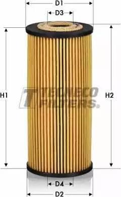 Tecneco Filters OL010052-E - Масляний фільтр autocars.com.ua